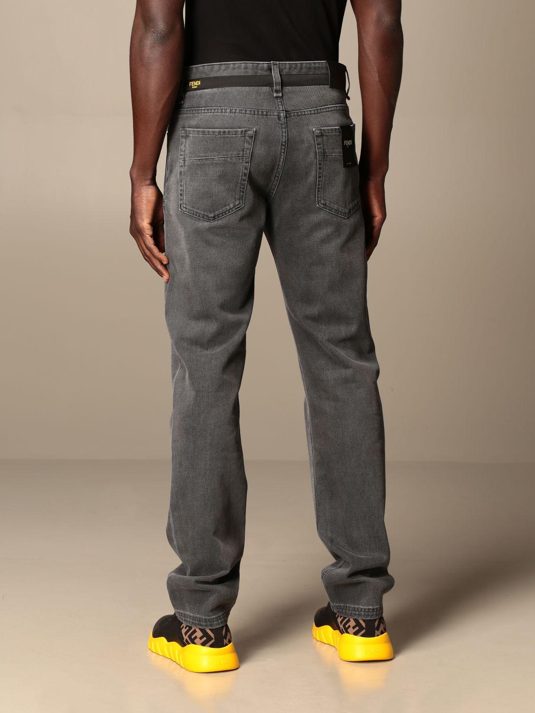 牛仔裤 Fendi: 牛仔裤 男士 Fendi 灰色 3