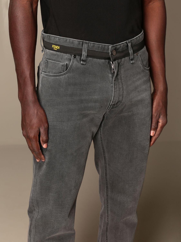 牛仔裤 Fendi: 牛仔裤 男士 Fendi 灰色 4
