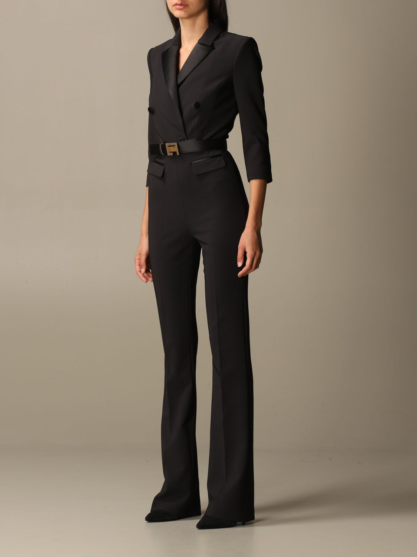 Платье Elisabetta Franchi: Платье Женское Elisabetta Franchi черный 2