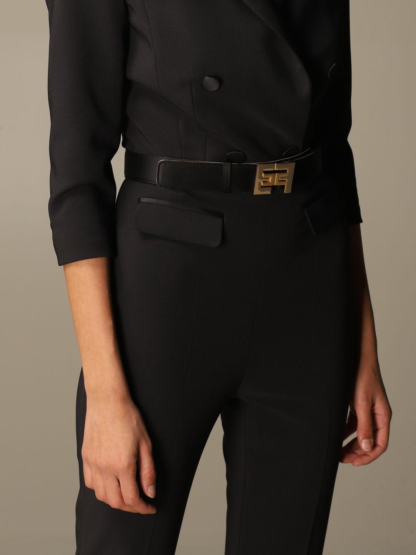 Платье Elisabetta Franchi: Платье Женское Elisabetta Franchi черный 4