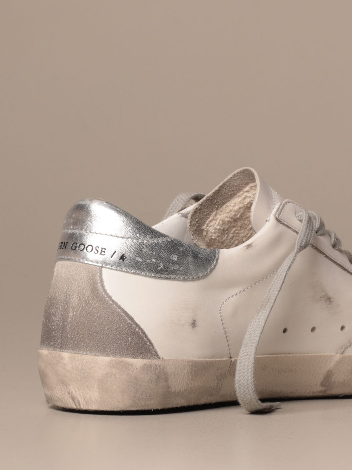 Sneakers Golden Goose: Superstar classic Golden Goose sneakers in leather white 3