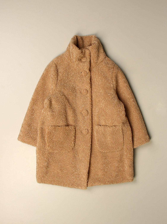 Abrigo Il Gufo: Abrigo niños Il Gufo beige 1