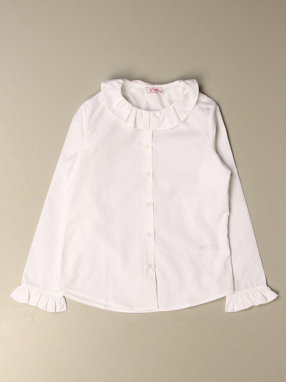 Chemise Il Gufo: Chemise enfant Il Gufo blanc 1