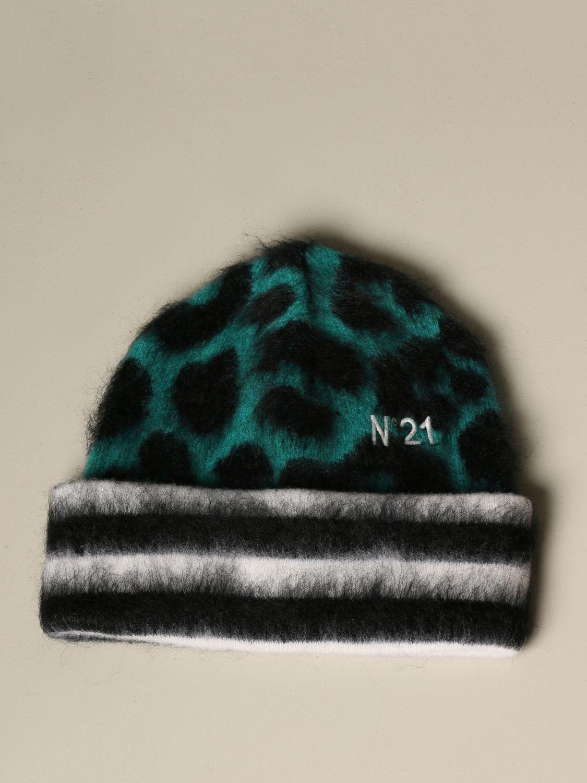 Chapeau N° 21: Chapeau femme N° 21 vert 1