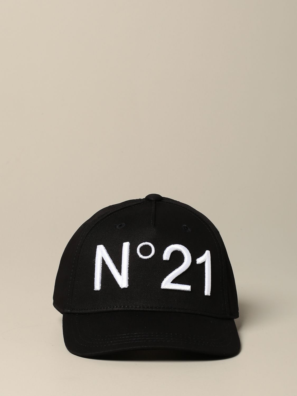 Cappello bambino N° 21: Cappello da baseball N°21 con logo nero 2