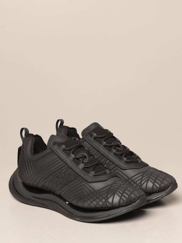 Sneakers Arkistar: Sneakers Arkistar in tessuto tecnico con effetto geometrico sovrapposto nero 2