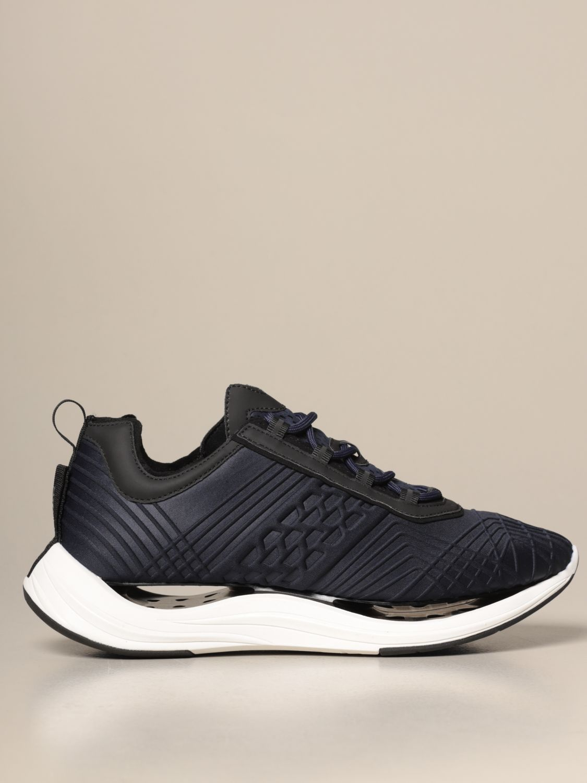 Sneakers Arkistar: Sneakers Arkistar in tessuto tecnico con effetto geometrico sovrapposto blue 1