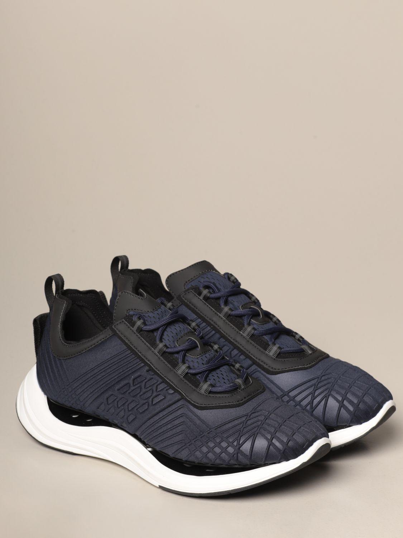 Sneakers Arkistar: Sneakers Arkistar in tessuto tecnico con effetto geometrico sovrapposto blue 2