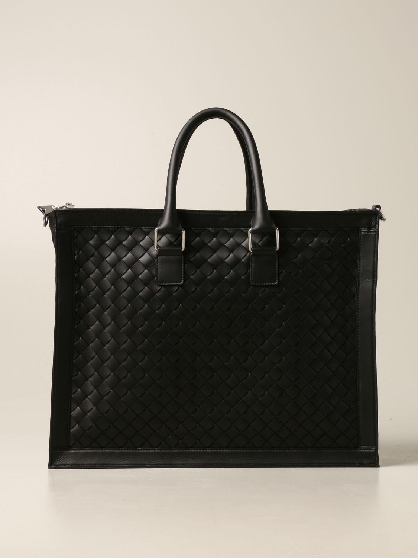 Bags Bottega Veneta: Bottega Veneta bag in woven leather black 1