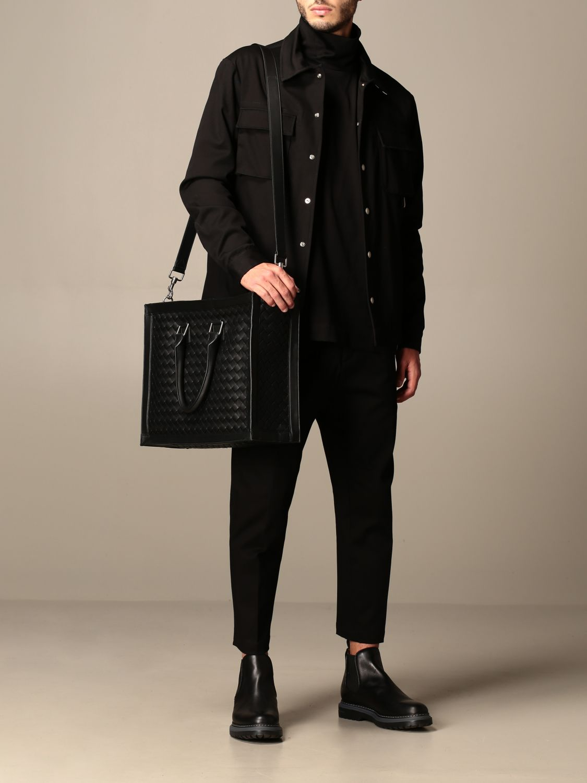 Bags Bottega Veneta: Bottega Veneta bag in woven leather black 2
