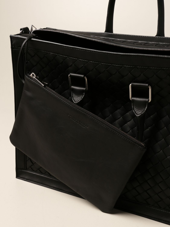 Bags Bottega Veneta: Bottega Veneta bag in woven leather black 5
