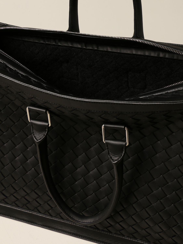 Bags Bottega Veneta: Bottega Veneta bag in woven leather black 6