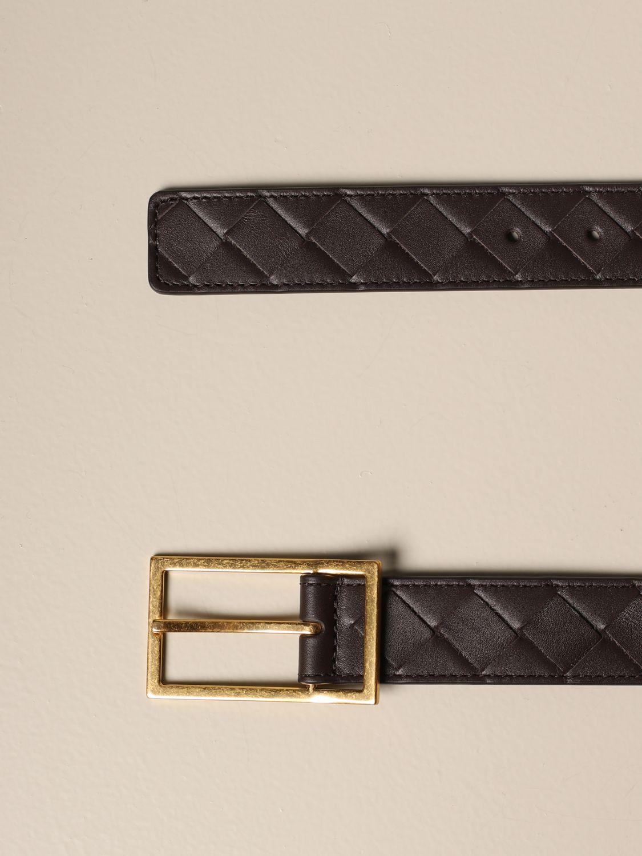Belt Bottega Veneta: Bottega Veneta belt in 1.5 woven leather dark 2