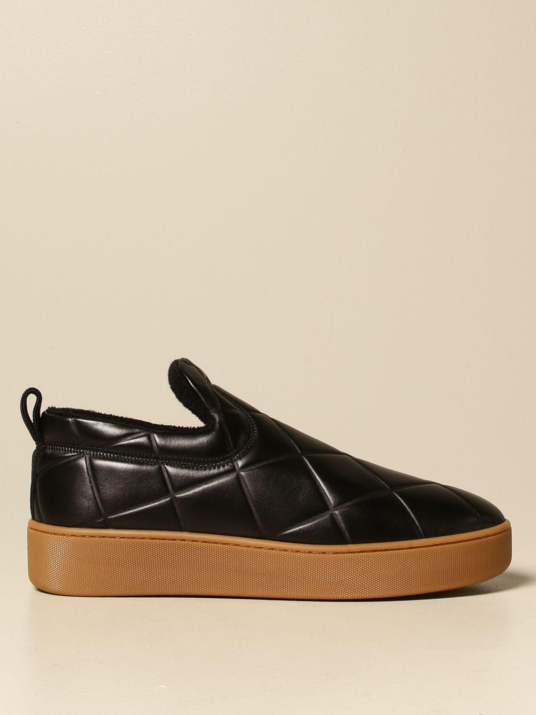 Sneakers Bottega Veneta: Sneakers BV Quilt Bottega Veneta slip on in pelle matelassé nero 1