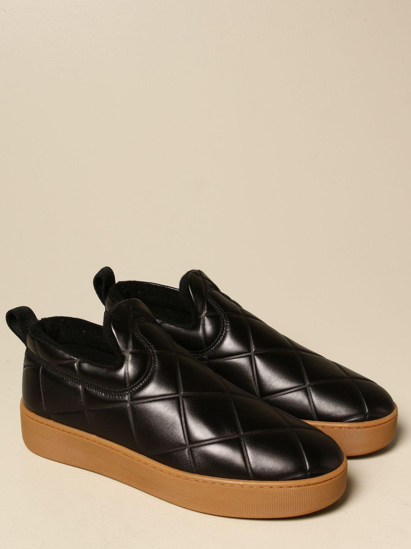 Sneakers Bottega Veneta: Sneakers BV Quilt Bottega Veneta slip on in pelle matelassé nero 2