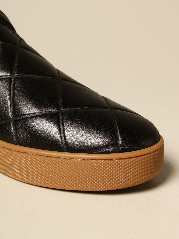 Sneakers Bottega Veneta: Sneakers BV Quilt Bottega Veneta slip on in pelle matelassé nero 4