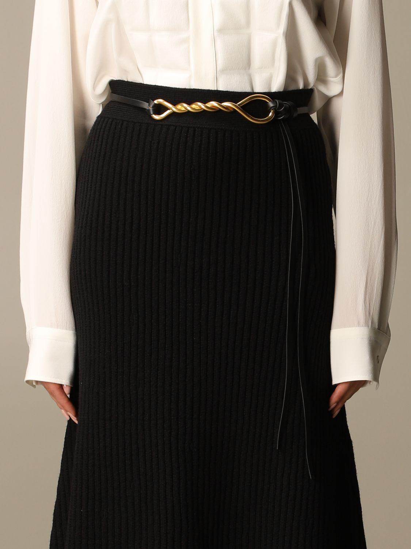 Belt Bottega Veneta: Belt women Bottega Veneta black 1