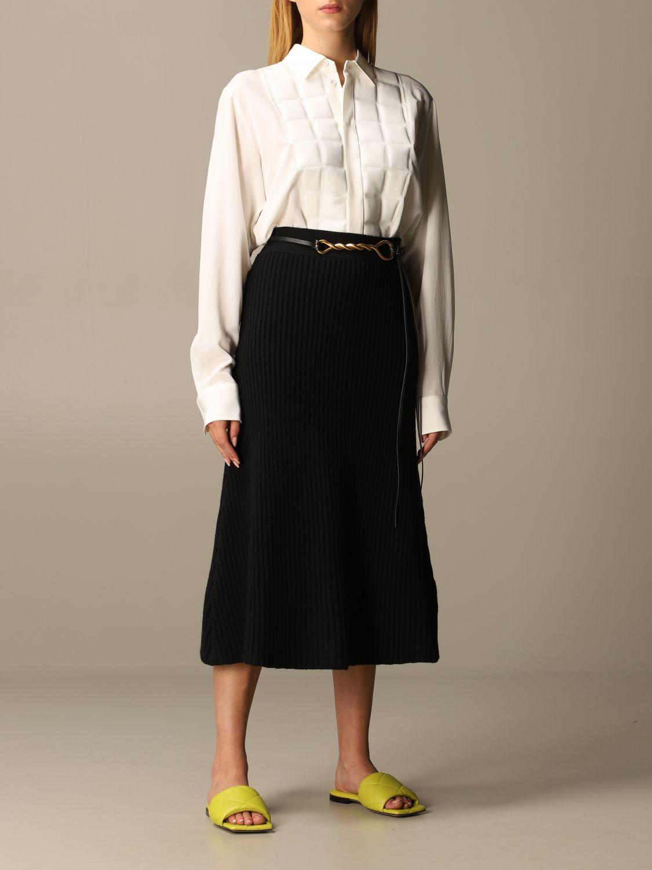 Belt Bottega Veneta: Belt women Bottega Veneta black 2