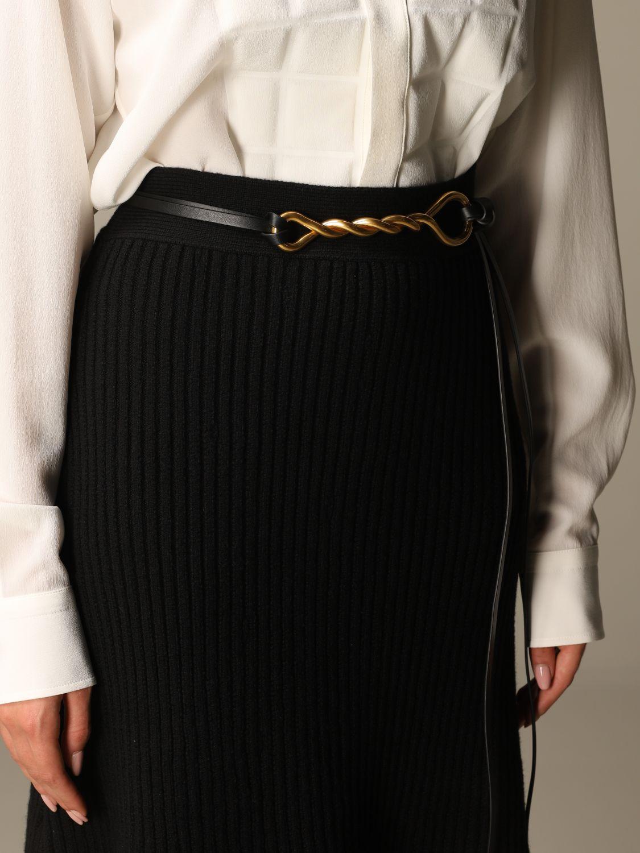 Belt Bottega Veneta: Belt women Bottega Veneta black 3