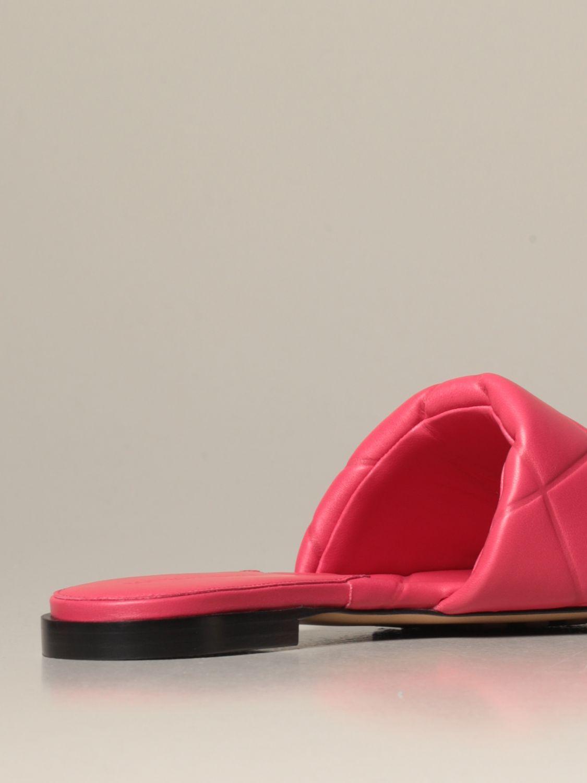 Flat sandals Bottega Veneta: Shoes women Bottega Veneta pink 3