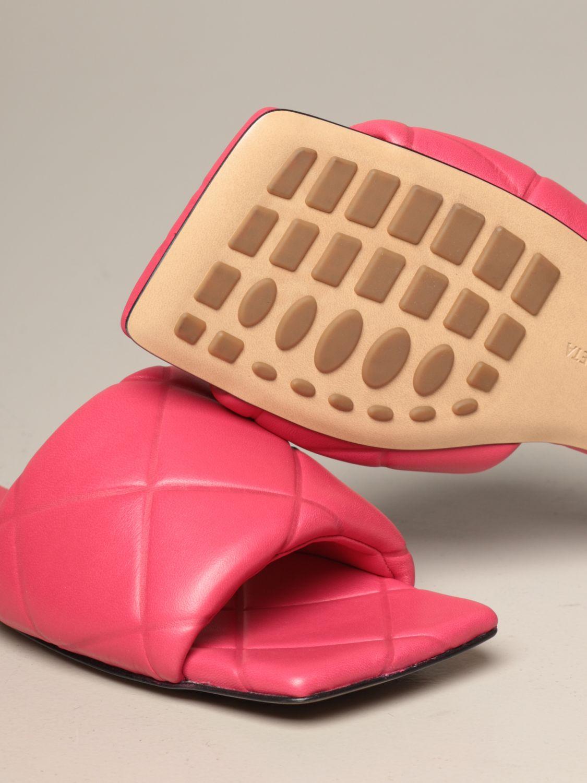 Flat sandals Bottega Veneta: Shoes women Bottega Veneta pink 4