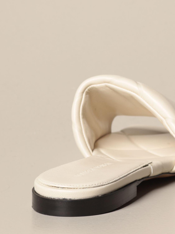 Bottega Veneta pink BV Rubber Lido 90 leather sandals   Browns