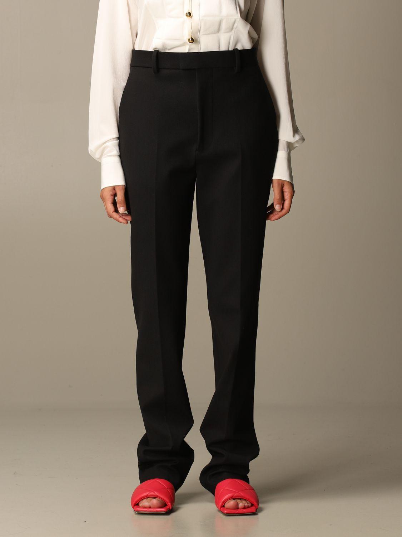Pantalón Bottega Veneta: Pantalón mujer Bottega Veneta negro 1