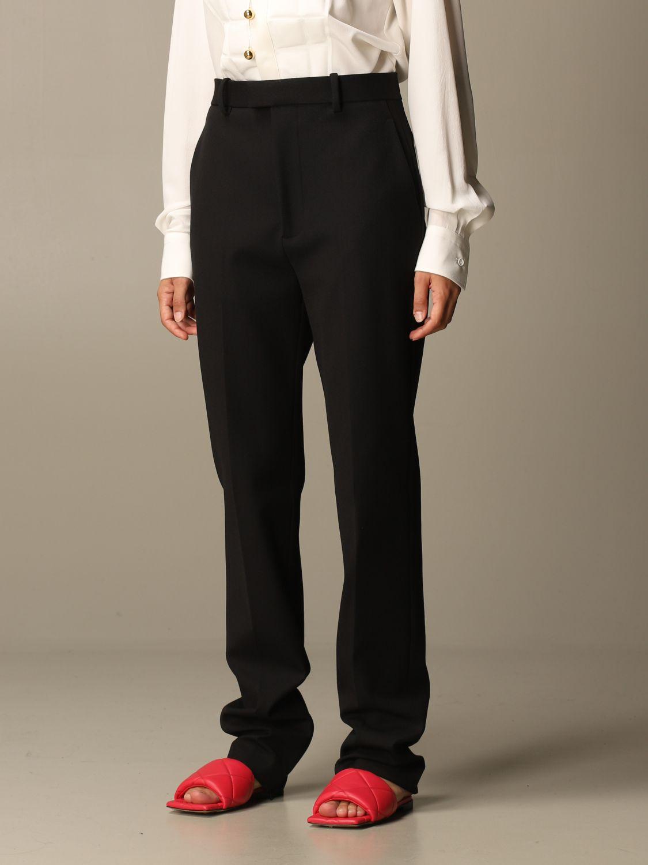Pantalón Bottega Veneta: Pantalón mujer Bottega Veneta negro 3