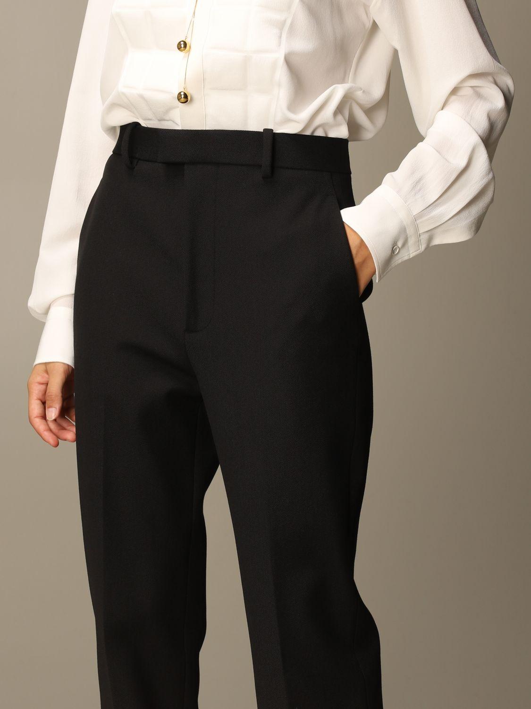 Pantalón Bottega Veneta: Pantalón mujer Bottega Veneta negro 4
