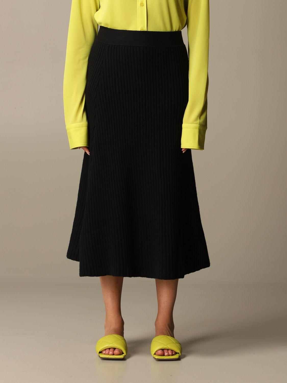Skirt Bottega Veneta: Skirt women Bottega Veneta black 1