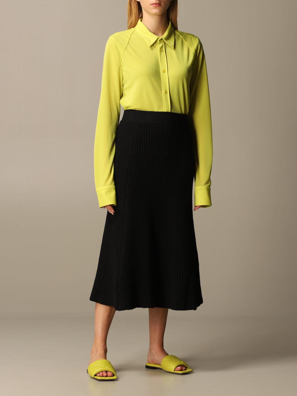 Skirt Bottega Veneta: Skirt women Bottega Veneta black 2