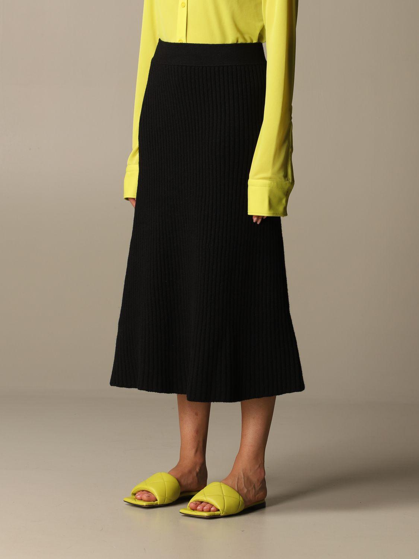 Skirt Bottega Veneta: Skirt women Bottega Veneta black 3