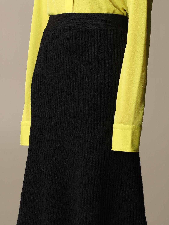 Skirt Bottega Veneta: Skirt women Bottega Veneta black 4