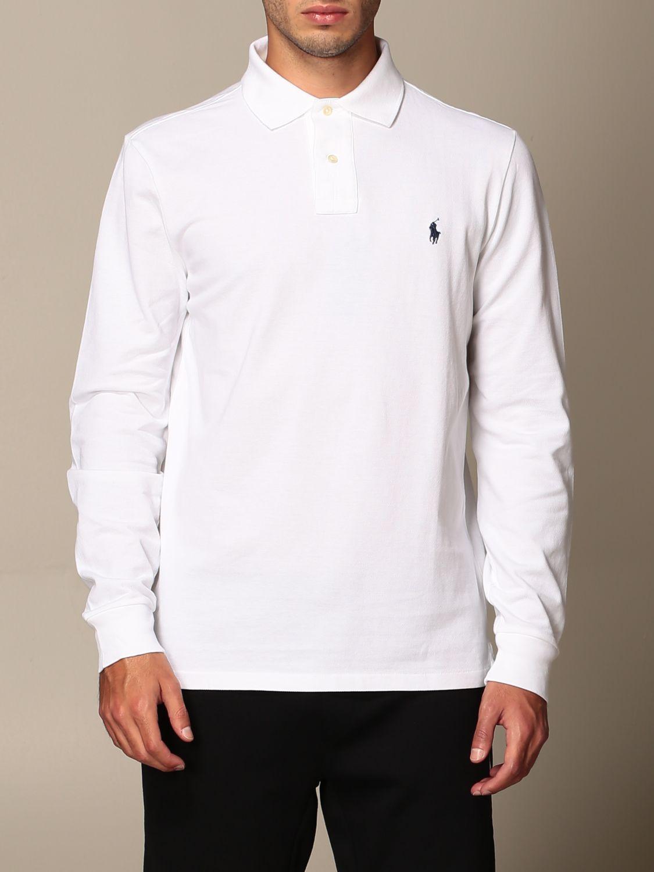 Polo shirt Polo Ralph Lauren: Polo shirt men Polo Ralph Lauren white 1