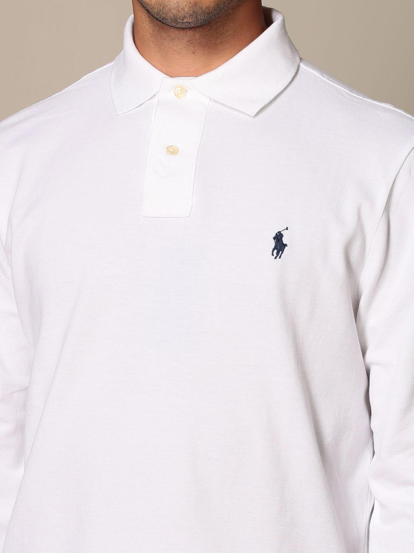 Polo shirt Polo Ralph Lauren: Polo shirt men Polo Ralph Lauren white 3
