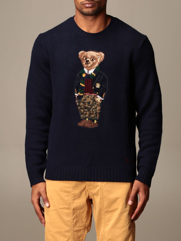 Polo Ralph Lauren Pullover Herren Pullover Polo Ralph Lauren Herren Blau Pullover Polo Ralph Lauren 710810855 Giglio De