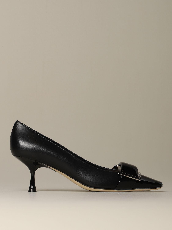 高跟单鞋 Sergio Rossi: 鞋 女士 Sergio Rossi 黑色 1