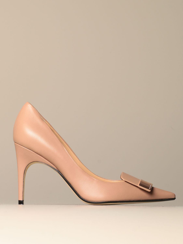 高跟单鞋 Sergio Rossi: 鞋 女士 Sergio Rossi 米色 1
