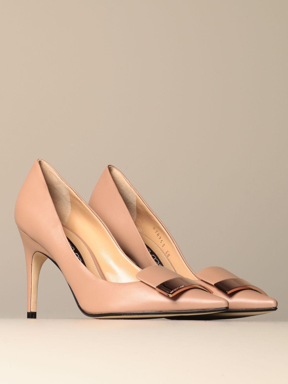 高跟单鞋 Sergio Rossi: 鞋 女士 Sergio Rossi 米色 2