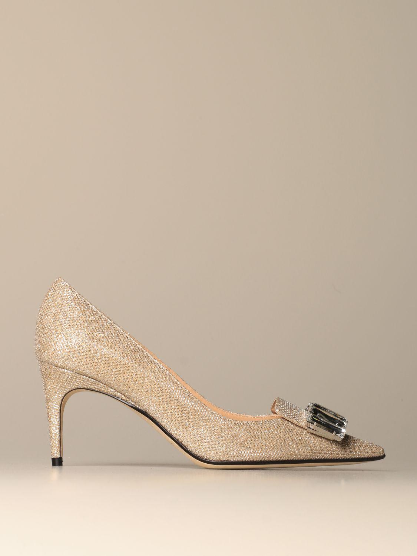 高跟单鞋 Sergio Rossi: 鞋 女士 Sergio Rossi 珀金色 1
