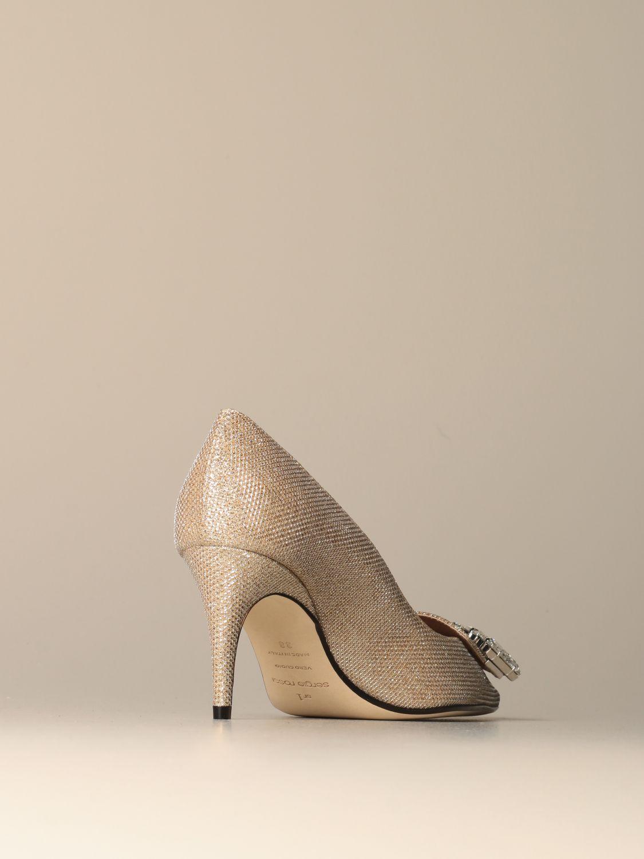 高跟单鞋 Sergio Rossi: 鞋 女士 Sergio Rossi 珀金色 3