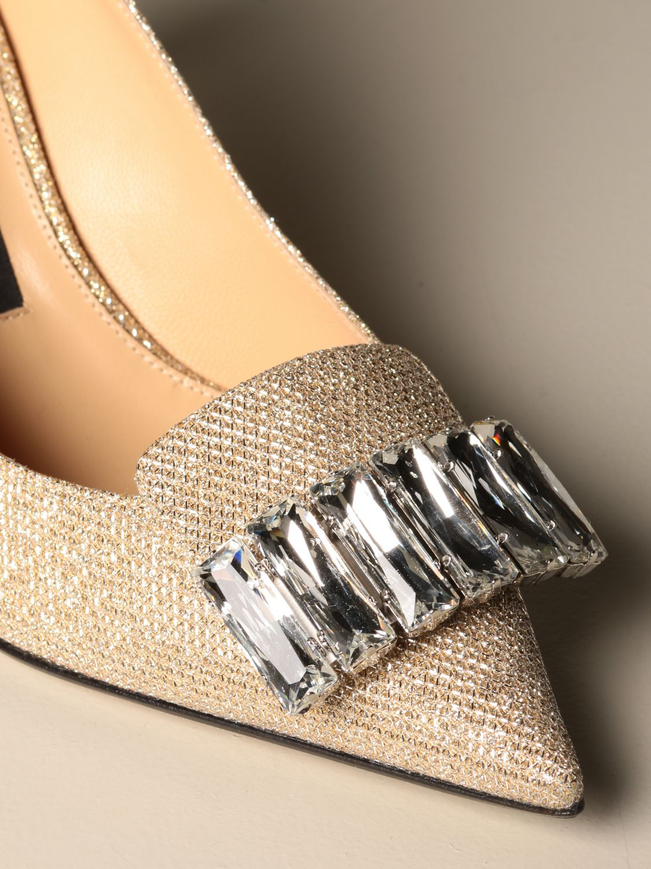 高跟单鞋 Sergio Rossi: 鞋 女士 Sergio Rossi 珀金色 4