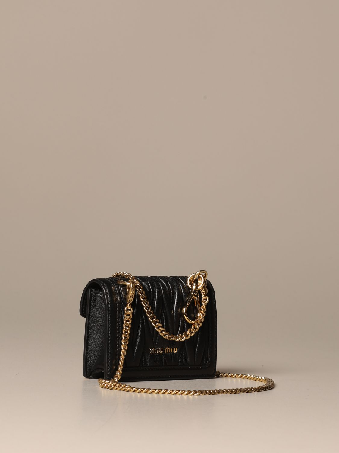 Mini bag Miu Miu: Shoulder bag women Miu Miu black 3