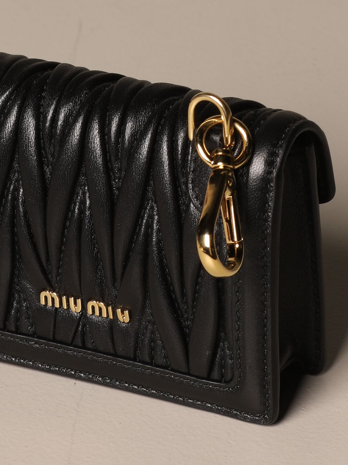 Mini bag Miu Miu: Shoulder bag women Miu Miu black 4