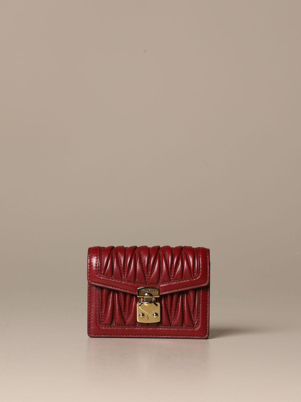 Mini bag Miu Miu: Shoulder bag women Miu Miu cherry 1