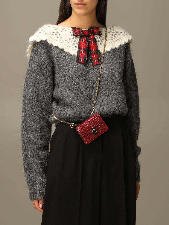 Mini bag Miu Miu: Shoulder bag women Miu Miu cherry 2