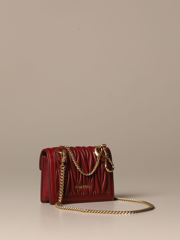 Mini bag Miu Miu: Shoulder bag women Miu Miu cherry 3
