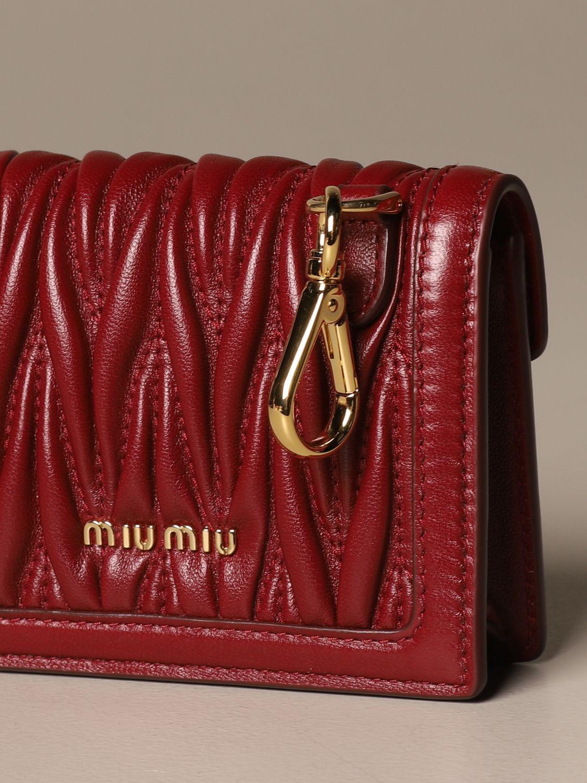 Mini bag Miu Miu: Shoulder bag women Miu Miu cherry 4