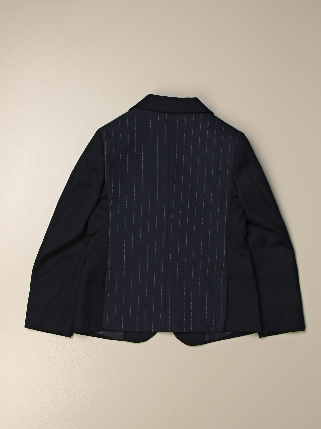 Blazer Siviglia: 2 pinstripe buttons on the back blue 2