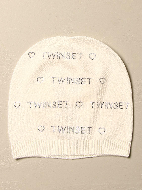 Шапка для девочек Twin Set: Шапка для девочек Детское Twin Set сливки 1